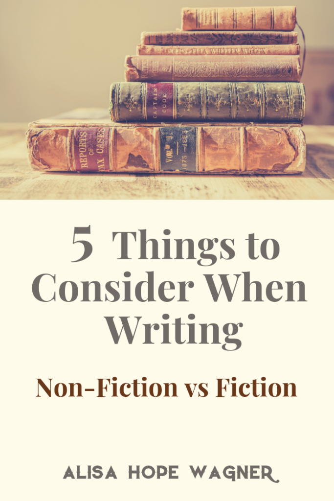 5 Differences Between Writing Fiction and Non-Fiction