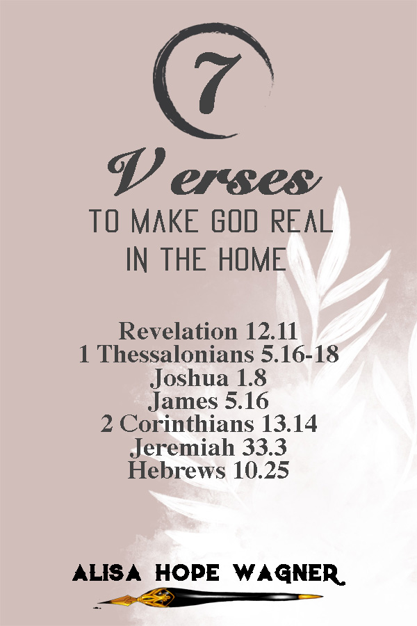 7 Verses for the Home
