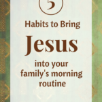 Morning Routine with Jesus
