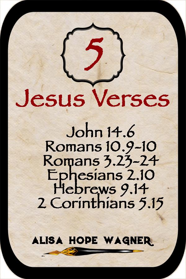 Verses to get into Heaven