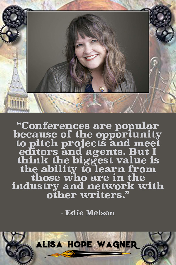 Alisa Hope Wagner interviews Edie Melson