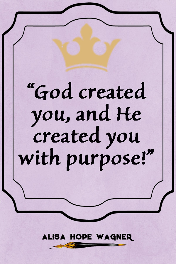 You have so much value and purpose!