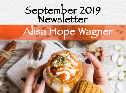 Pumpkin Spice Latte & September Newsletter