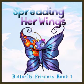 Introducing Laia, the Butterfly Princess!